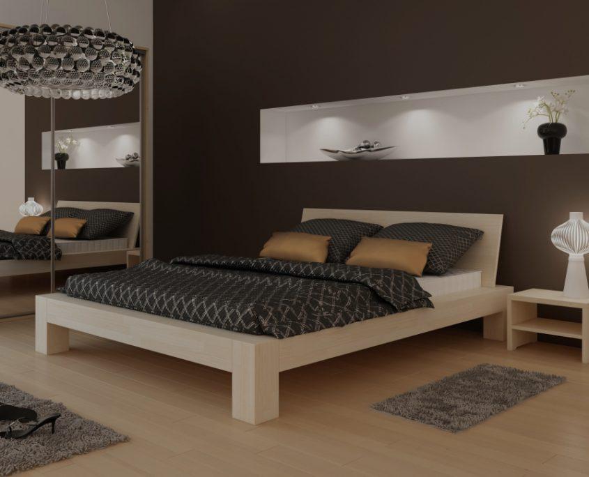 łóżka Do Sypialni Producent Mebli Bukowych Dębowych